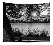 Sunset On The Guadalquivir 2  Tapestry