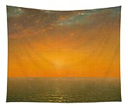 Sunset On The Sea Tapestry