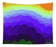 Sunset Over Water Tapestry