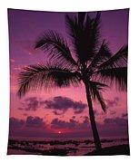 Sunset Palms Tapestry