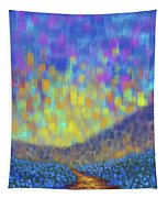 Sunset Path Tapestry