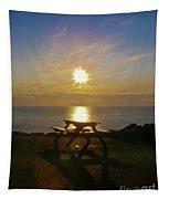 Sunset Picnic Tapestry