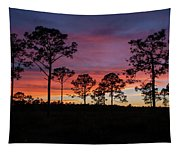 Sunset Pines Tapestry