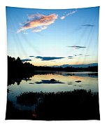 Sunset Pond Tapestry