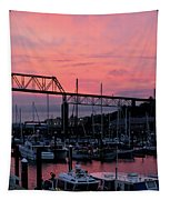 Sunset Port Tapestry