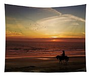 Sunset Ride Tapestry