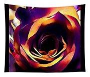 Sunset Rose Tapestry