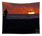 Sunset Run Tapestry
