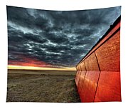 Sunset Saskatchewan Canada Tapestry