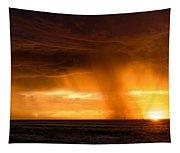 Sunset Shower Tapestry