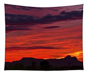 Sunset Silhouette H1816 Tapestry