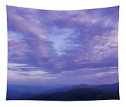Sunset - Smoky Mountains  Tapestry