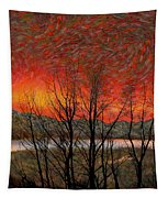 Sunset Soliloquy Tapestry