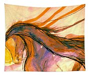 Sunset Submission Tapestry