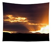 Sunset Sunbeams Tapestry