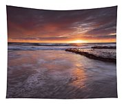 Sunset Tides Tapestry