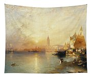 Sunset Venice Tapestry