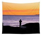 Sunset Watcher Tapestry