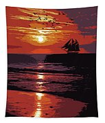 Sunset - Wonder Of Nature Tapestry