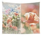 Sunshine And Poppies Tapestry