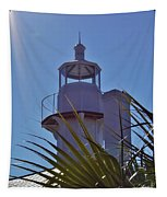 Sunshine At The Lighthouse Tapestry