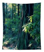 Sunshine In The Forest Tapestry