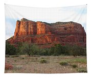 Sunshine On Courthouse Butte Tapestry