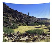 Sunup In Ghost Town Tapestry