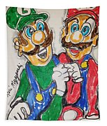 Super Mario Brothers Tapestry