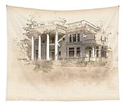 Superintendent's Home Drawing Tapestry