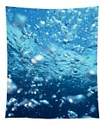Surface Bubbles Tapestry
