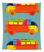 Surfer Vans Tapestry