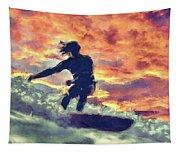Surfing Tapestry