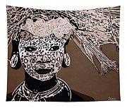 Surma Girl Tapestry