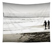Surreal Beach Tapestry