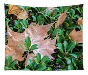 Surrounded Leaf Tapestry