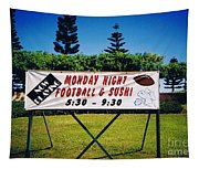 Sushi And Football In Hawaii Tapestry