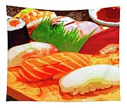 Sushi Plate 1 Tapestry