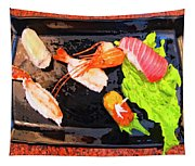 Sushi Plate 2 Tapestry