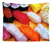 Sushi Plate 4 Tapestry