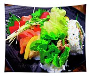 Sushi Plate 5 Tapestry