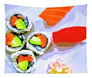Sushi Plate 6 Tapestry
