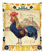 Suzani Rooster 1 Tapestry