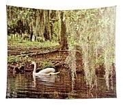 Swan Dreams Tapestry
