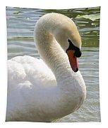Swan Elegance Tapestry