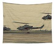 Swarming Cobras Tapestry