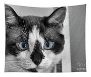 Sweet Blue Eyes Tapestry