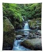 Sweet Creek Falls Vertical Tapestry