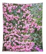 Sweet Pink Southern Azaleas Tapestry