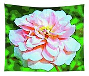 Sweetheart Rose On A Sunny Day Tapestry